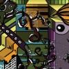 ORGANIC CITYSCAPE TRIPTYCH ILLUSTRATION