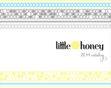 LITTLE HONEY CATALOG DESIGN