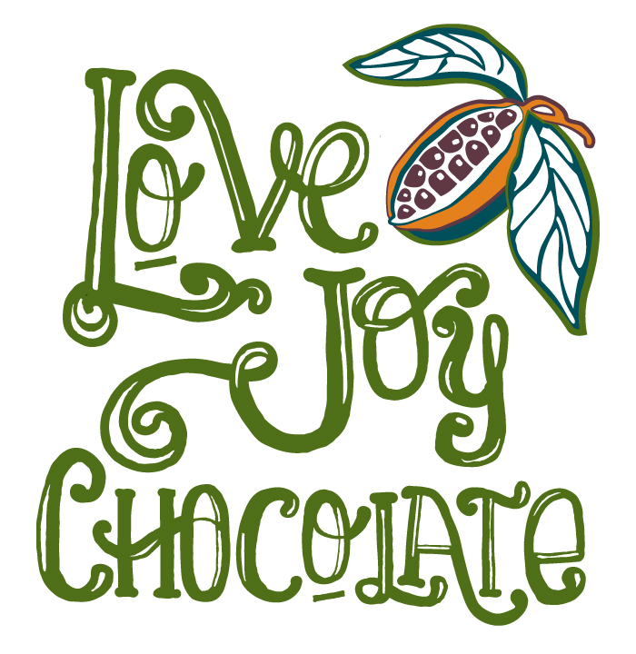 LOVE JOY CHOCOLATE IDENTITY