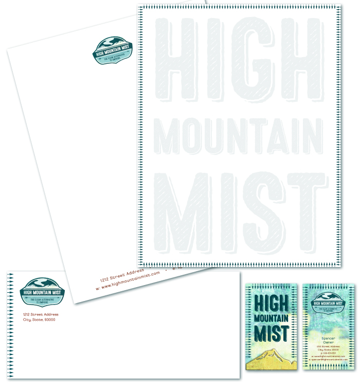 HIGH MOUNTAIN MIST IDENTITY