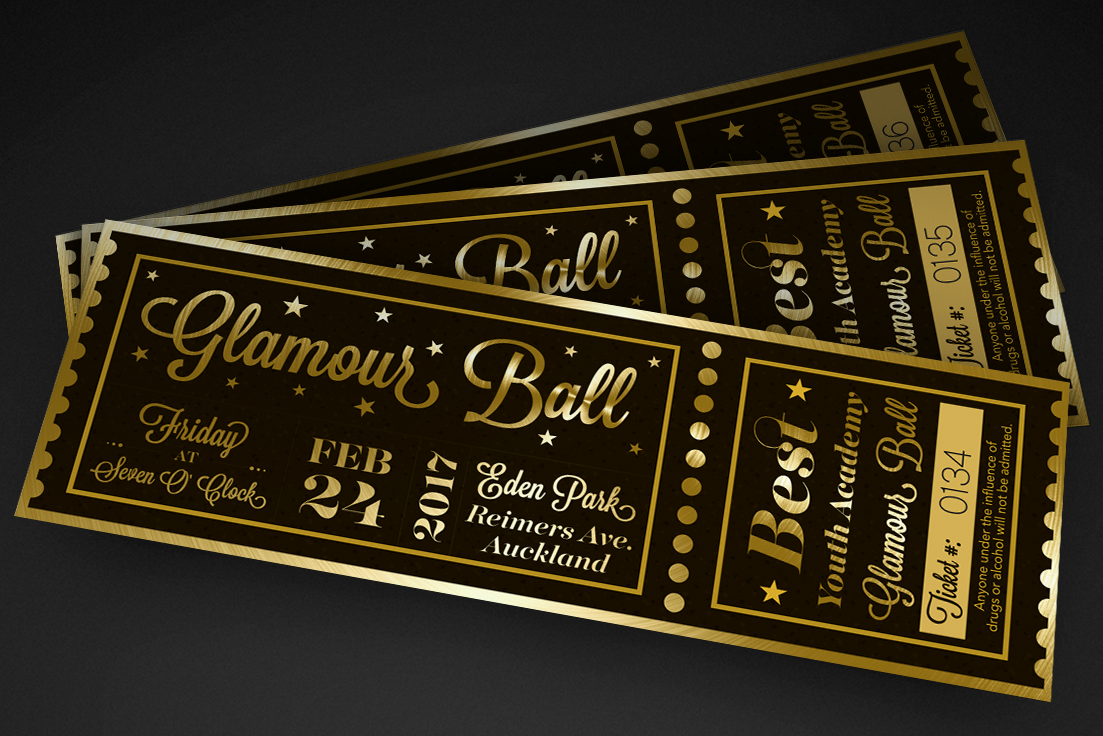 BEST Youth Academy Glamour Ball Tickets
