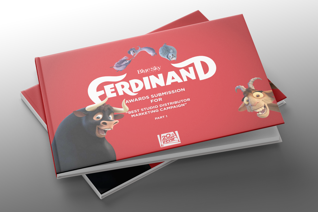Ferdinand Marketing Campaign Award Booklet