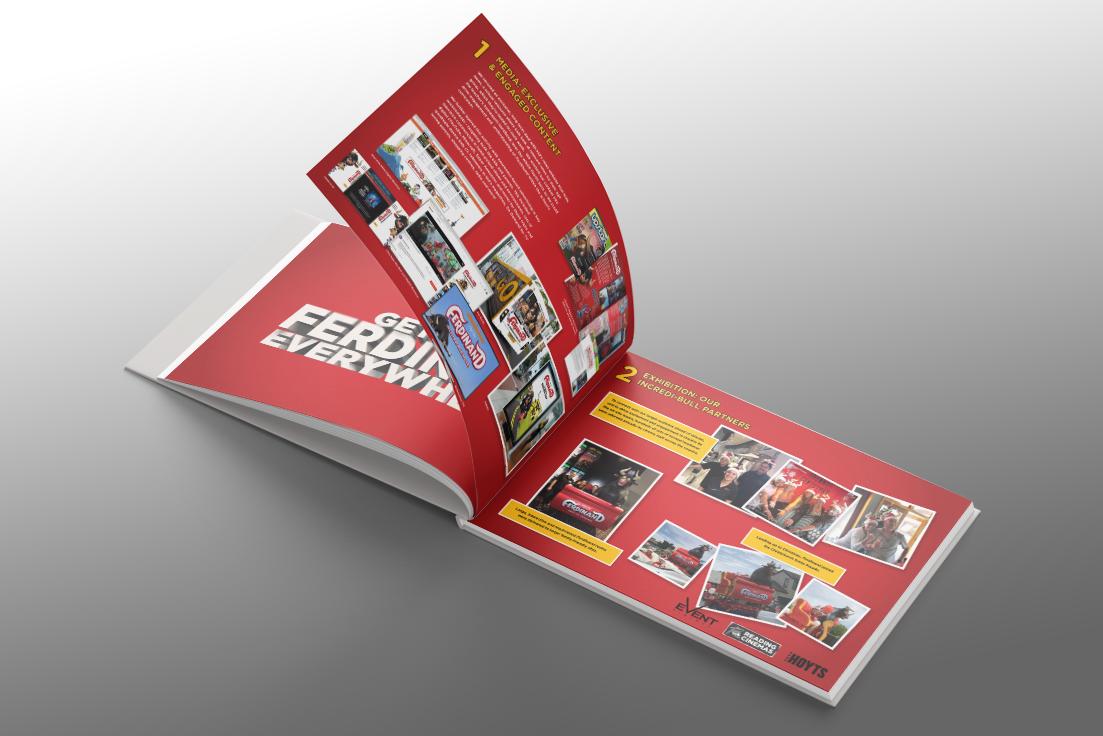 Ferdinand Marketing Campaign Award Booklet