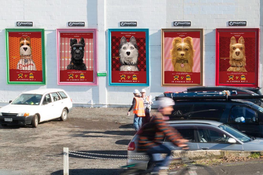 Isle of Dogs Street Posters