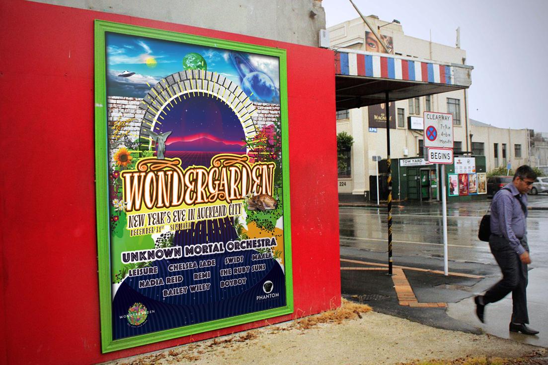 Wondergarden Festival Poster Design