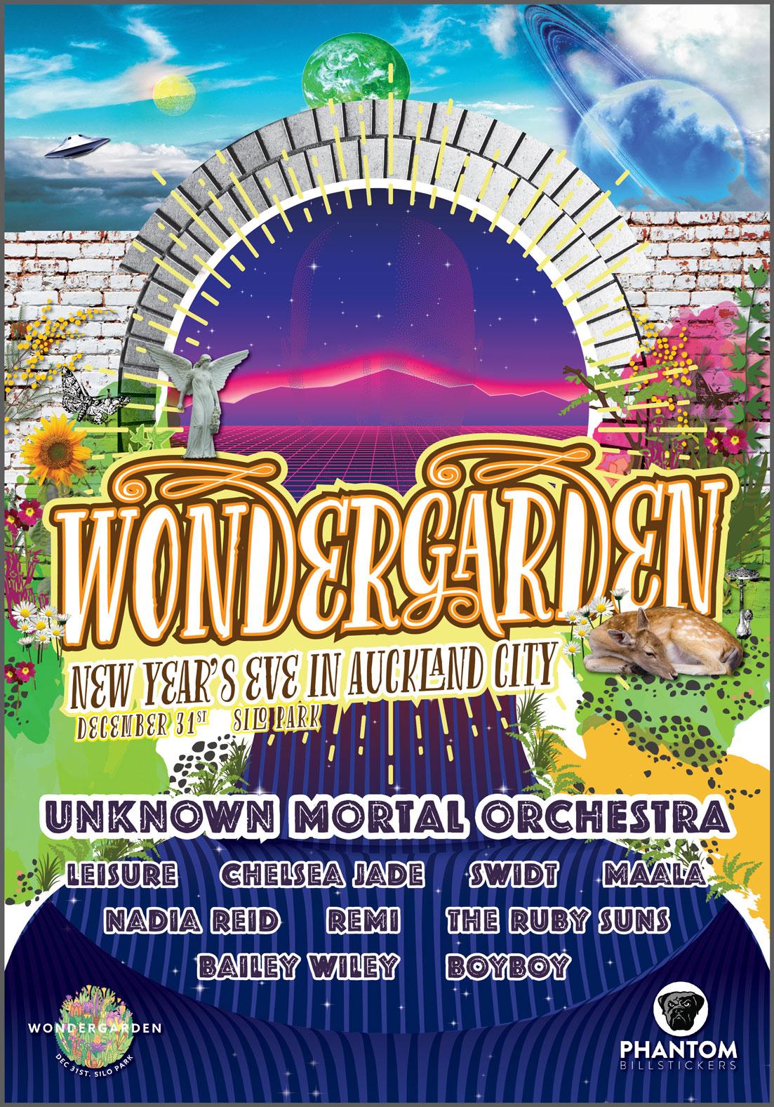 Wondergarden Poster Design