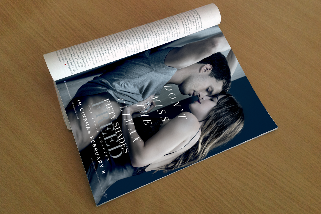 Fifty Shades of Freed Magazine Ad